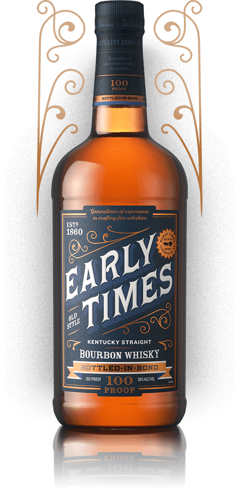 Bottle of Early Times Bottled-in-Bond