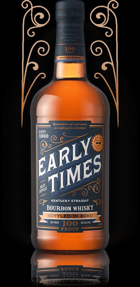Bottle of Early Times Bottled-in-Bond